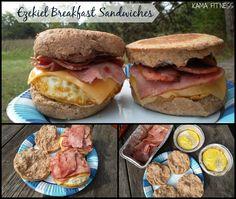 Enjoying {Ezekiel Breakfast Sandwiches} in the Great Outdoors