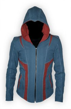 Do you want your nerd cred with an Ezio Auditore hoodie? Volante Design, baby. I'd steal this, but I want pay for it full price.
