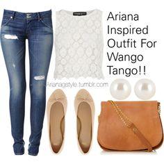 Ariana Inspired Outfit For Wango Tango!!
