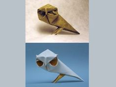 Dinh Truong Giang is a very talented Origami artist born in Hue, Vietnam and moved to USA to study architecture. Currently living in Virginia, he creates these wonderful animal paper sculptures using wet fold origami technique. It's a Japanese paper folding art which requires thick paper to be dampened before it's folded into a model. This process results in soft and gentle curve lines, and provides strength and flexibility to the finished piece.