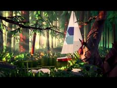 Sherwin-Williams River animated TV commercial