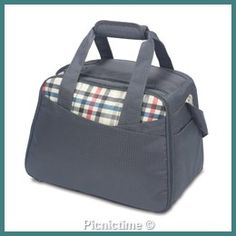 Picnic Time Westminster Insulated Cooler Tote - Carnaby Street for sale online Insulated Bags, Picnic Cooler, Picnic Time, Great Birthday Gifts, Fabric Bags, Camping Accessories, Westminster, Camping Gear, Gym Bag