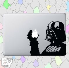 Darth Vader Star Wars - vinyl decal sticker for macbook pro air 11'' 13'' 15'' 17'', iPads and other devices on Etsy, $9.80