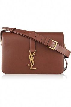 YSL bags for sale at DFO Handbags feature the highest possible quality in every popular Saint Laurent style, at a fraction of normal YSL handbag prices. Shoulder Strap Bag, Leather Shoulder Bag, Saint Laurent, Ysl, Structured Handbags, Brown Leather Handbags, Leather Totes, Leather Bags, Canvas Leather
