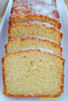 Coconut sponge cake