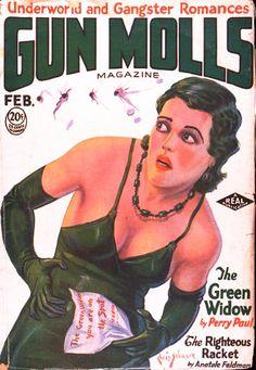 Gun Molls Magazine - February 1931