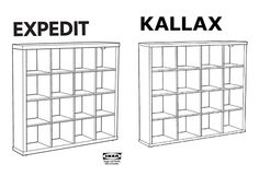 Ikea Kallax Hacks | Inspiration for your IKEA Kallax  - WEBSITE DEVOTED TO THIS AWESOME FURNITURE