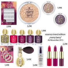 essence merry berry 2015 - Google Search