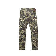 Multi-Pocket Camo Trousers