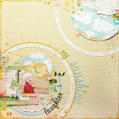Webster's Pages designerTanya Batrak's layout is STUNNING! Love the circles.  My_sunshine