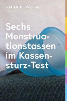 Der Kassensturz hat sechs der meistverkauften Menstruationscups testen lassen. Durchgefallen ist keine – jedoch konnten nur zwei Modelle komplett überzeugen. Hier geht's zu den Ergebnissen!