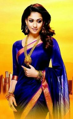 One among the few known for beauty in saree, is Nayanthara in Saree. Here are a few mind-blowing pictures of Nayanthara in saree that you can try too. Beautiful Saree, Beautiful Indian Actress, Indian Beauty Saree, Indian Sarees, Nayanthara In Saree, Nayanthara Hairstyle, Indische Sarees, Tori Tori, Simple Sarees