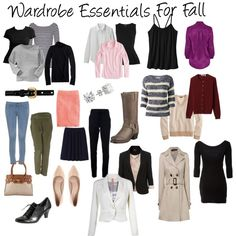 """""""Wardrobe Essentials For Fall"""" by katie-willmorth on Polyvore"""
