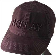 73705925 $45.25 Original Replay baseball caps, mens & ladies designer sports  adjustble hats blk