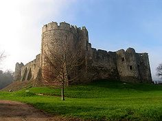 Chepstow Castle (Marten's Tower), Wales. Built by William fitzOsbern, Sir William Marshal (my ancestor) and Sir Roger Bigod. In use from 1067-1685.