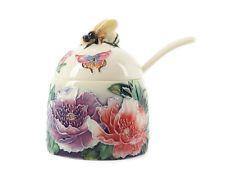 Art Deco New Butterflies Bee Honey Pot Old Tupton Ware