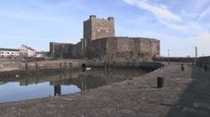 New information about the history of a 12th Century castle is being revealed by an archaeological dig.   Carrickfergus Castle, in County Antrim, dates back to Anglo-Norman times and was in constant military use for almost 800 years [Credit: BBC] Carrickfergus Castle, in County Antrim, is the best preserved Anglo-Norman castle on the island of Ireland.