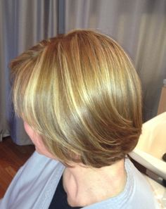 Spring into style!  This Monument Style client just had foil highlights along with a cut and blowdry.