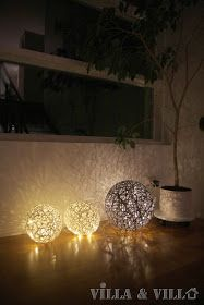 """Not just for Christmas, these easy-to-make """"balls of lights"""" will bring light to the dark winter nights."""