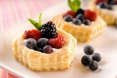mixed berry tartlets :)