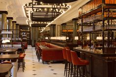 Best Gin Bar at Holborn Dining Room near Covent Garden in Midtown London