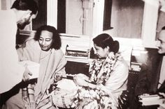 Yogananda with Swami Kriyananda