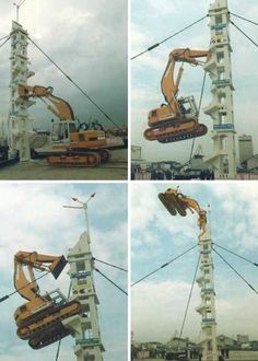 High Anxiety: Rooftop Excavators Tear Down from Up Top