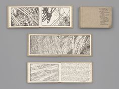 Lebbeus Woods. the tiny sketchbooks serve as his mobile studio during periods of intense travel. Woods uses the sketch as a form of investigation, often devoting a series of drawings to the development of a single idea. Here he depicts fields of expansive energy through extremely dense, dark accumulations of acutely angled lines and shapes that usually fill the entire page. Voids within this system create charged space between tightly packed elements.