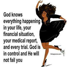 God knows. ..