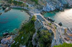Agios Ioannis, a monastery in the north-east of Skopelos.
