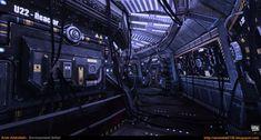 Sci-Fi Corridor v.1 [UDK] by amirabd2130 on DeviantArt