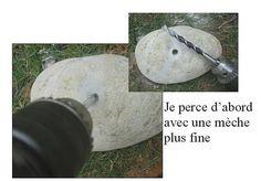 Pour percer un galet : http://www.ofil2leau.com/tutoriels/comment-percer-des-galets/