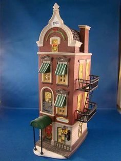 """Department 56 """"Christmas In The City"""" series """"Beekman House"""""""