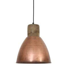 Koper is de woontrend van 2016! Daarom is hanglamp Ismay hout weather barn en koper een echte aanrader. De lamp is afkomstig van het merk Light & Living. Het is een moderne designlamp waarmee je meer gezelligheid en warmte in huis brengt. Door de gave kleurcombinatie van hout en koper is dit een hanglamp met een eigen look. Deze lamp is niet alleen mooi boven de eettafel, maar ook mooi aan het plafond van de woon-, werk of slaapkamer.
