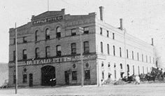 Buffalo Pitts Machine Company building at 420-424 N.P. Avenue, about 1908