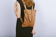 Brown leather backpackBrown laptop backpackBrown leather