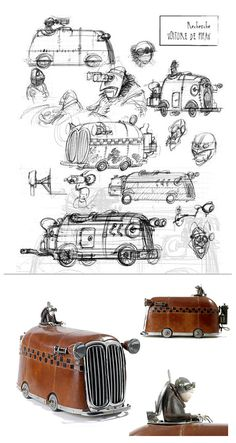 Remarkable Collection of Steampunk Sculptures | Beautiful Life