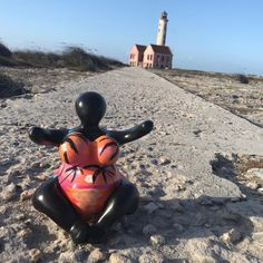 Chichi loves to travel, even if it's to our next door island; Chi Chi, All The Colors, Art Pieces, Around The Worlds, Hand Painted, Island, Travel, Fictional Characters, Viajes