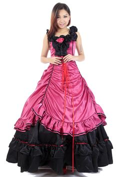 WS_COS Lolita Culture Cosplay Costume Lolita Dress 24th Version Set S *** See this great product.