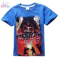 New 2016 boys star wars clothing t shirt girls kids nova star wars top t-shirt children summer t shirt star wars meninos roupas #>=#>=#>=#>=#> Click on the pin to check out discount price, color, size, shipping, etc. Save and like it!