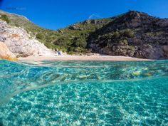 Crystal Clear waters in Vlora, Albania