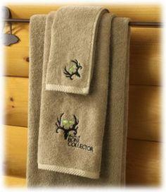 Bone Collector® Bath Collection - Hand Towel | Bass Pro Shops