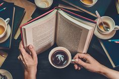 Capturing Stories in Coffee Cup Reflections