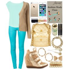 Jasmine Goes to School: Fall Edition by haterzbelike, via Polyvore Modern Disney Outfits, Disneybound, Disney Style, Jasmine, Disney Princess, School, Fall, Polyvore, How To Wear