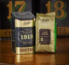 Bettys Coffee Caddy & House Blends on Packaging of the World ...