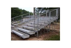 Bleachers 21L with Aisle, 8 Rows 91 Seats - Alumagoal VIP Series  //Price: $ & FREE Shipping //     #sports #sport #active #fit #football #soccer #basketball #ball #gametime   #fun #game #games #crowd #fans #play #playing #player #field #green #grass #score   #goal #action #kick #throw #pass #win #winning