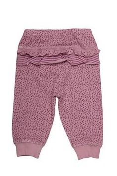 "Naartjie Kids SA newborn girls leggings in our ""Willow Spot"" print, with the cutest frills on the back."