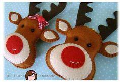 Décorations de Noël en feutrine | Le blog de Tout A Créer Plus
