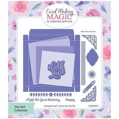 Card Making Magic Die Set Complete Card & Box Set of 14 | 6x6 Collection by Christina Griffiths