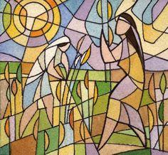"""Ruth and Naomi"" - Congregation Beth Emeth, Herndon, VA"